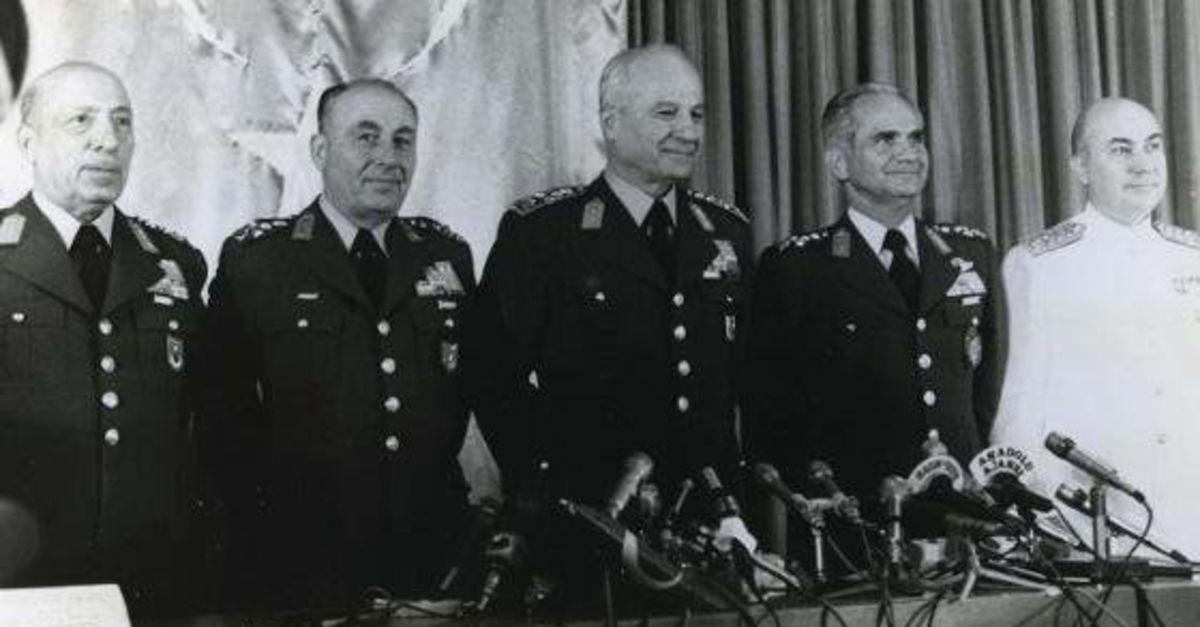 12 Eylül'de ne oldu? 12 Eylül 1980 Askeri Darbesi neden yapıldı? 12 Eylül Darbesi'nin 39. yıldönümü | Gündem Haberleri