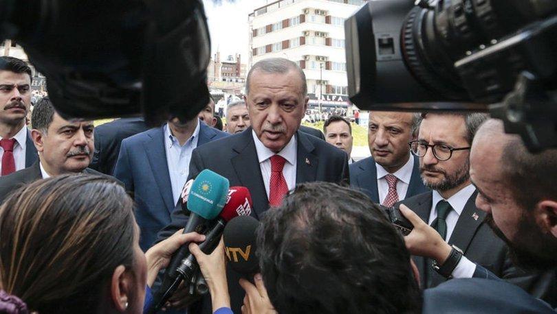 Erdoğan son dakika