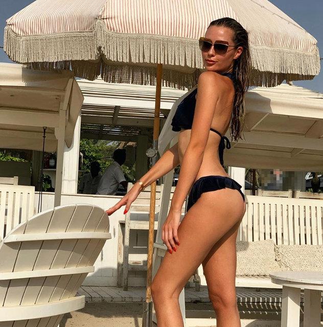 Serdar Ortaç'ın eski eşi Chloe Loughnan'dan bikinili poz