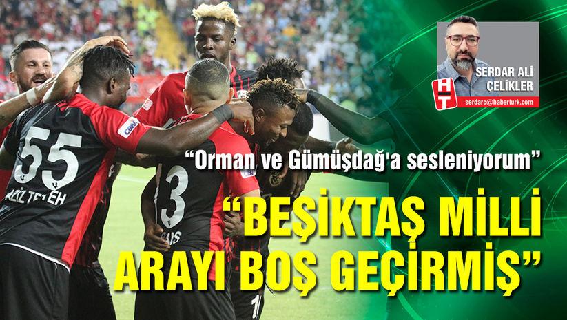 """Beşiktaş milli arayı boş geçirmiş"""