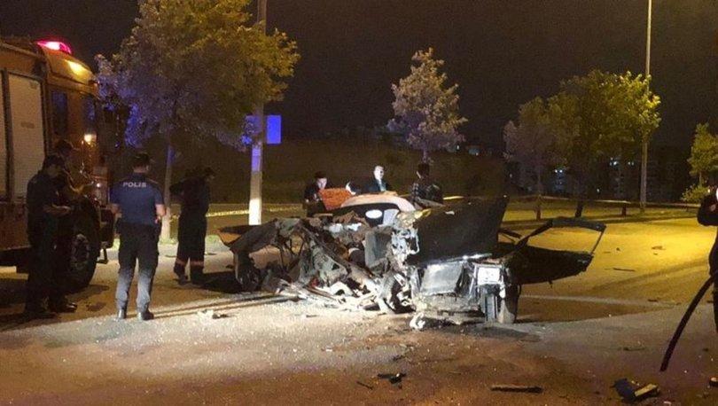 başkent trafik kazası