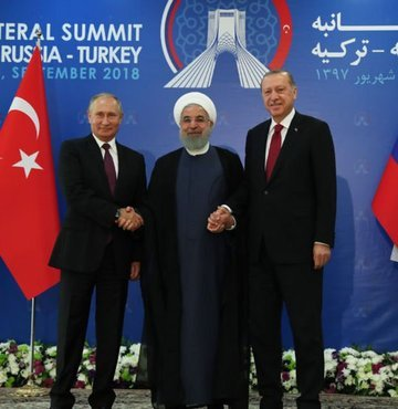 Putin ve Ruhani Ankara'ya geliyor!