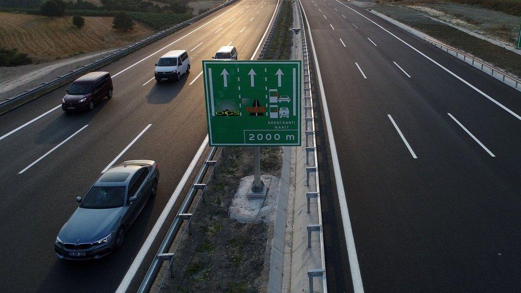 İstanbul-İzmir Otoyolu'nu 35 milyon araç kullandı