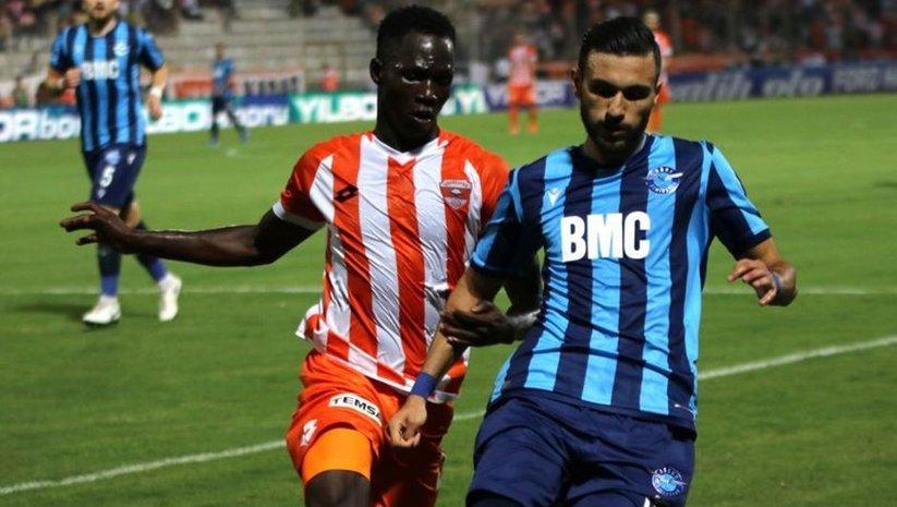 Adana derbisinde gol çıkmadı!