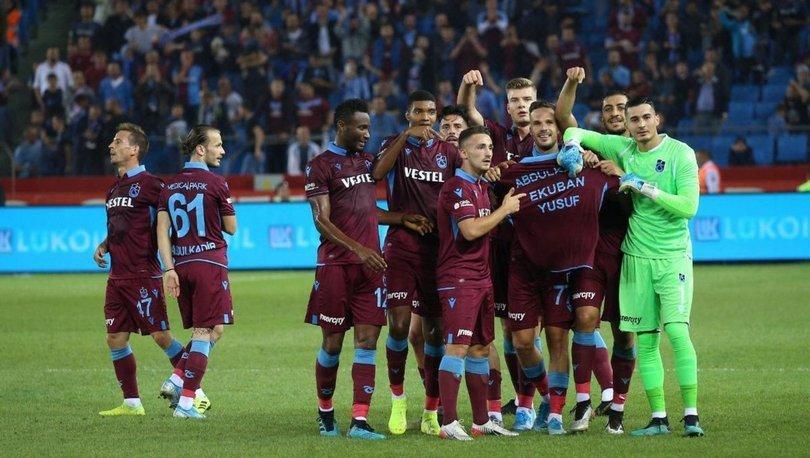 Trabzonspor'da duygusal sevinç! Sakat oyuncular anıldı