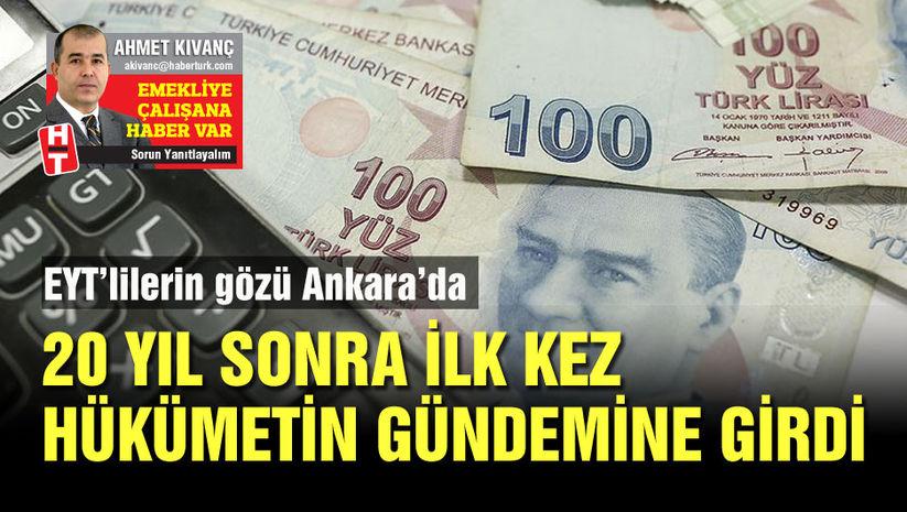 EYT'lilerin gözü Ankara'da