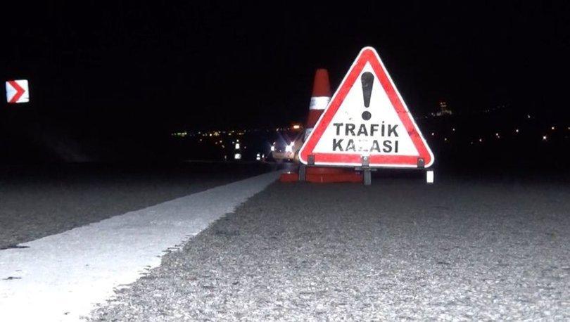 Kağıthane'de trafik kazası