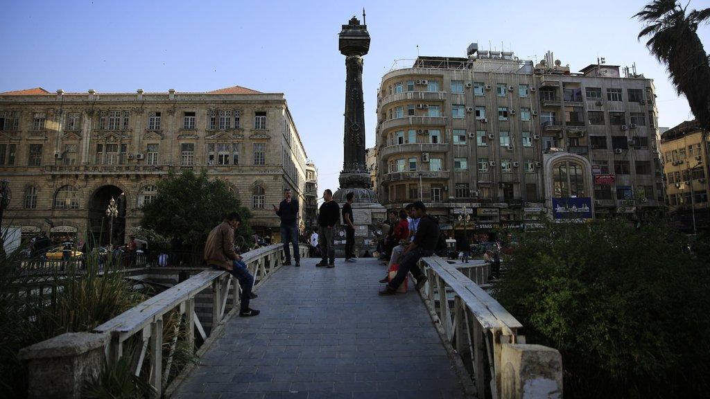 Kanlı savaş sürerken Şam'a lüks otel yatırımı