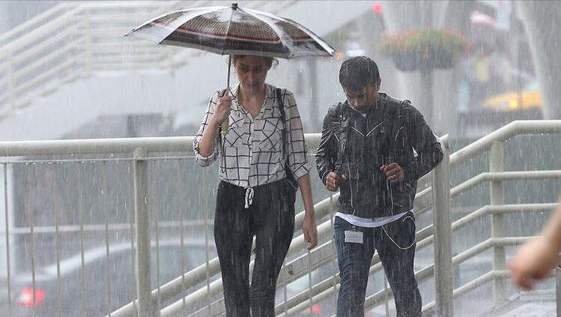 İstanbul hava durumu 5 günlük! Meteoroloji'den sağanak yağış uyarısı! İstanbul'da haftasonu havalar nasıl?