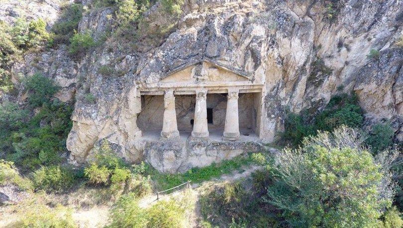 Sinop'un saklı kalan 2700 yıllık tarihi 'Boyabat Kaya Mezarları' keşfedilmeyi bekliyor - Haberler