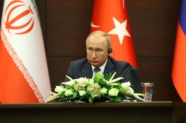 Putin basın toplantısında ayet okudu!