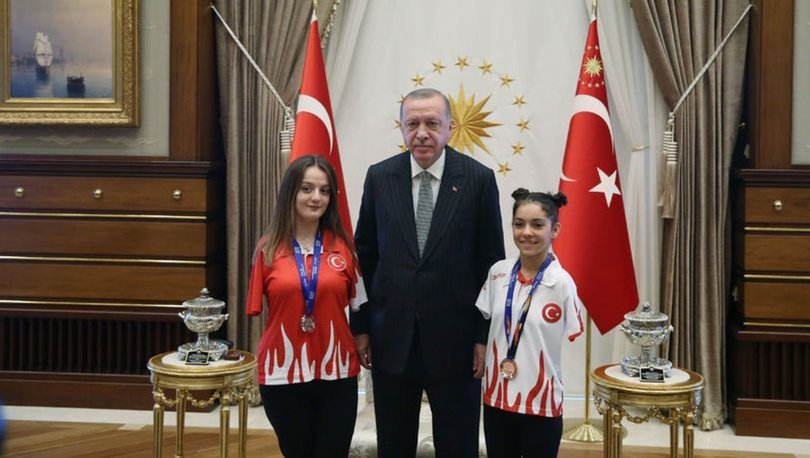 Cumhurbaşkanı Erdoğan, Boyacı ve Öztürk'ü kabul etti