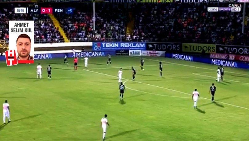 Fenerbahçe'den kural hatası başvurusu (Alanyaspor maçı)