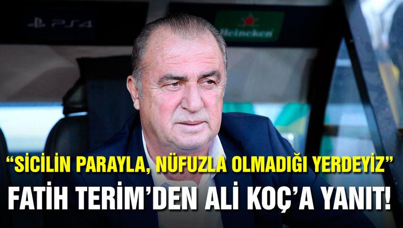 Fatih Terim'den Ali Koç'a yanıt! Club Brugge maçı sonrası konuştu! Galatasaray haberleri