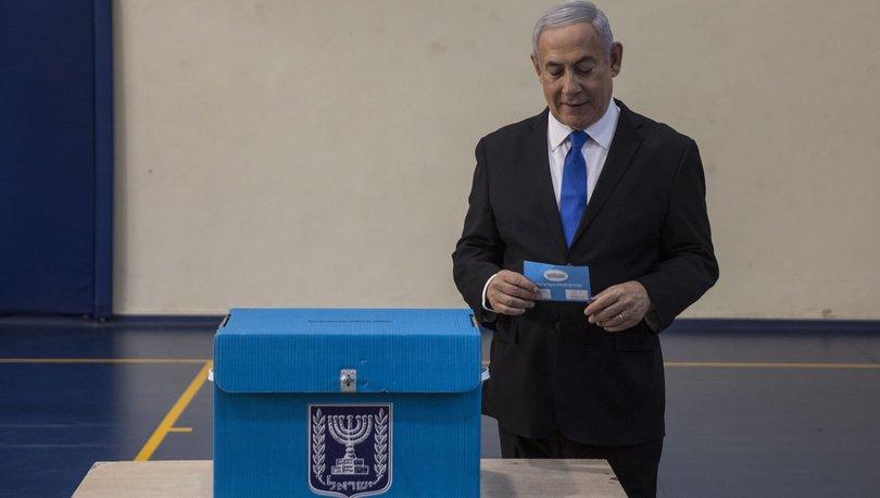 israil seçimleri son dakika