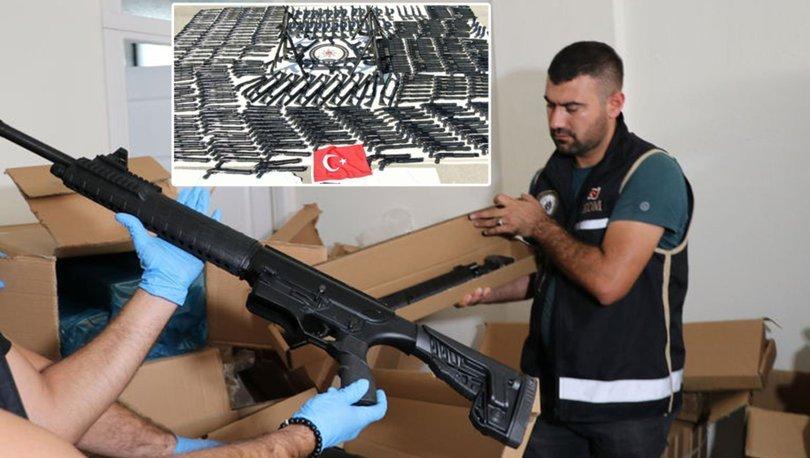 kaçak silah operasyonu