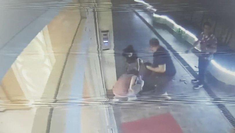 Pencereden düşen yabancı uyruklu kadın öldü