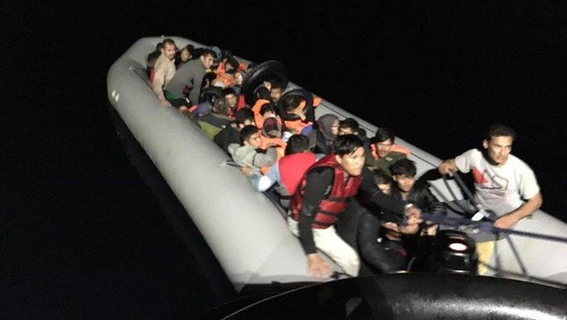 İzmir'de 251 kaçak göçmen yakalandı