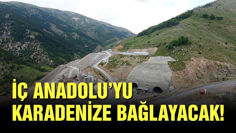 İç Anadolu'yu Karadeniz'e bağlayacak!