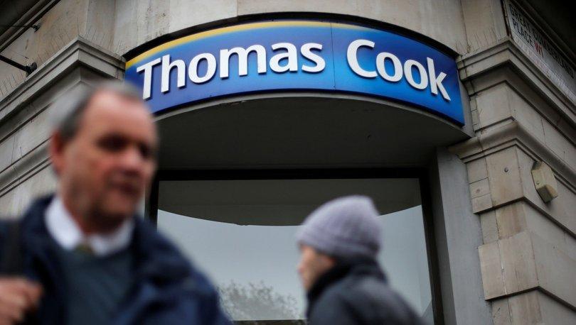 Seyahat şirketi Thomas Cook iflas