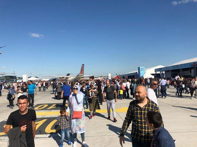 TEKNOFEST İstanbul'u 1 milyon 750 bin kişi gezdi