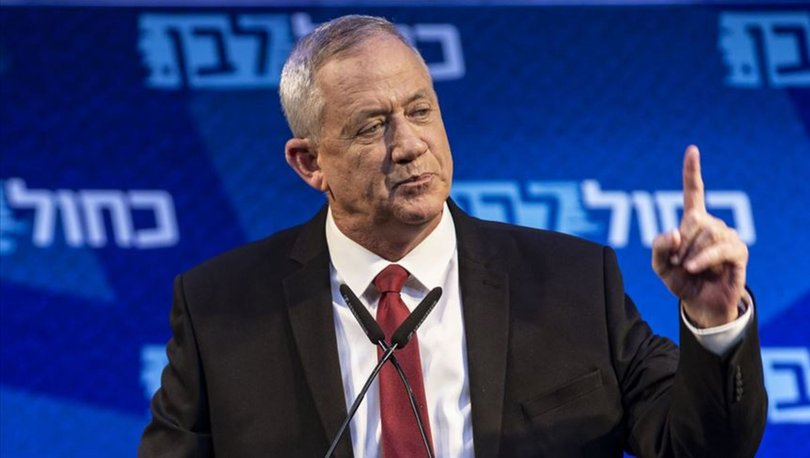 İsrailli Araplar başbakanlık için Gantz'ı önerdi