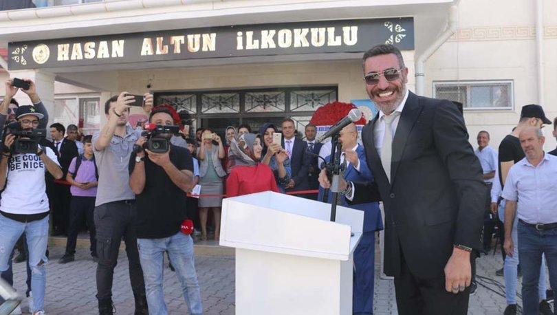 Siirt'te Hakan Altun'un desteğiyle yapılan okul açıldı