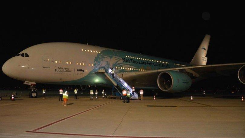 Türkiye'nin ilk ticari Airbus 380 uçuşu gerçekleşti