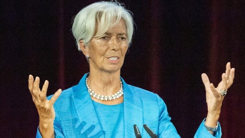 Lagarde: Ticarete yönelik tehditler en büyük engel