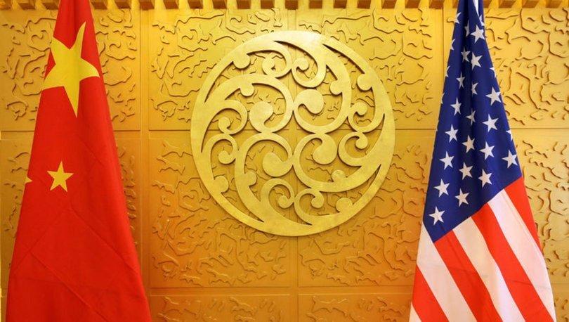 Çin ABD bayrağı