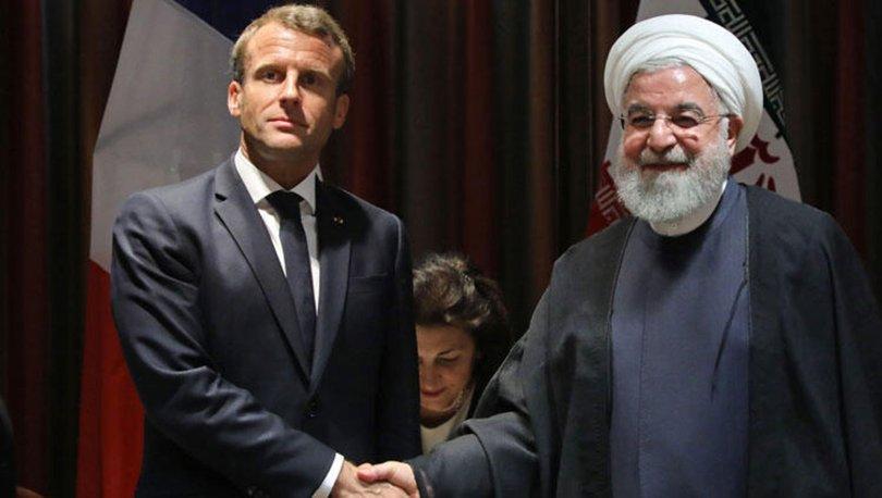 İran Cumhurbaşkanı Ruhani: Macron'un çabaları, Trump yaptırımları kaldırırsa sonuç verebilir