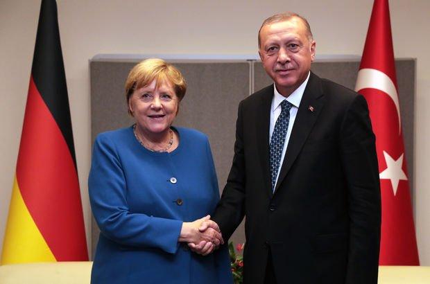 Cumhurbaşkanı Erdoğan'ın Merkel'le görüşmesine damga vuran konu