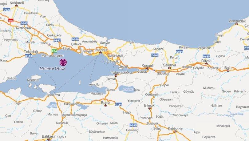 Son dakika: İstanbul'da korkutan deprem! Büyük panik