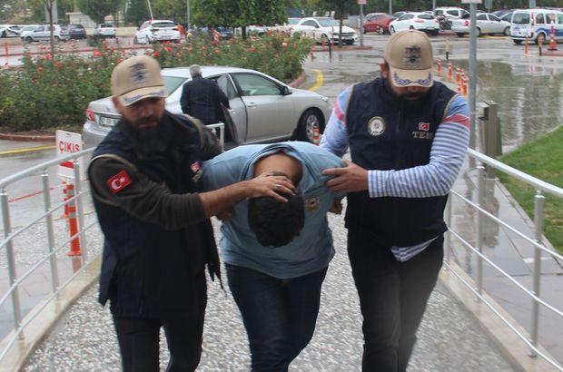 DEAŞ propagandası yapan Suriyeli tutuklandı