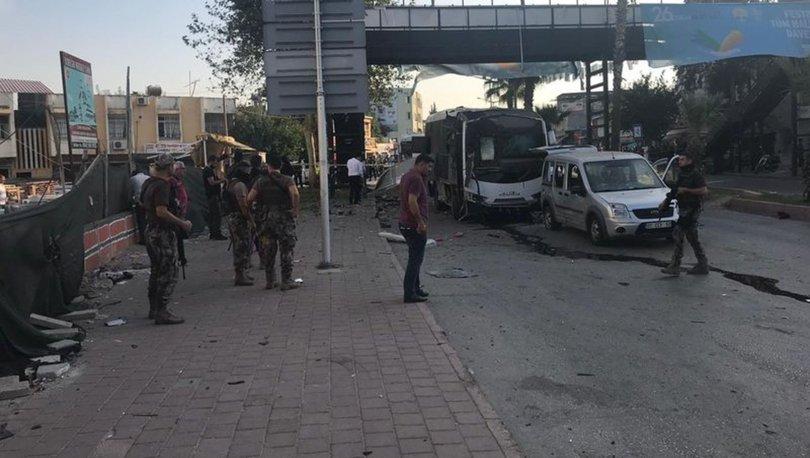 Son dakika TERÖR SALDIRISI! Adana'da polis aracına hain saldırı! Yaralılar var...