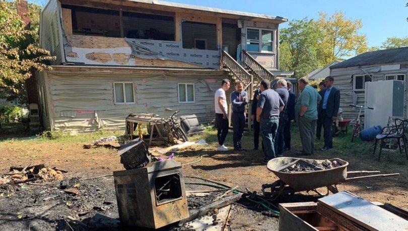 New York Long Island'da Türk ailenin evi kundaklandı