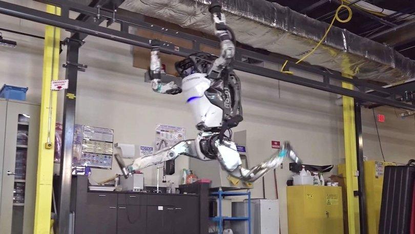 Boston Dynamics'in robotu Atlas jimnastik yapmaya başladı