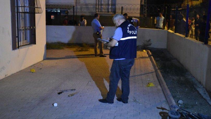 Adana'da sopalı silahlı kavga: 2 yaralı