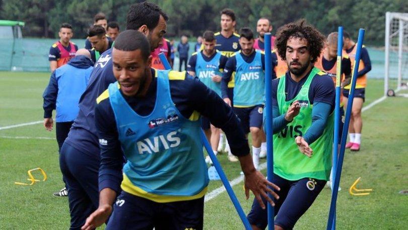 Fenerbahçe'de derbi öncesi neşeli antrenman