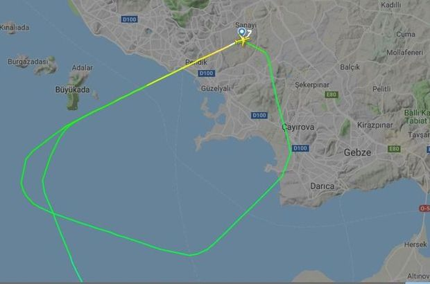 """Kuleden pilotlara: """"Deprem oldu, pas geçin"""""""