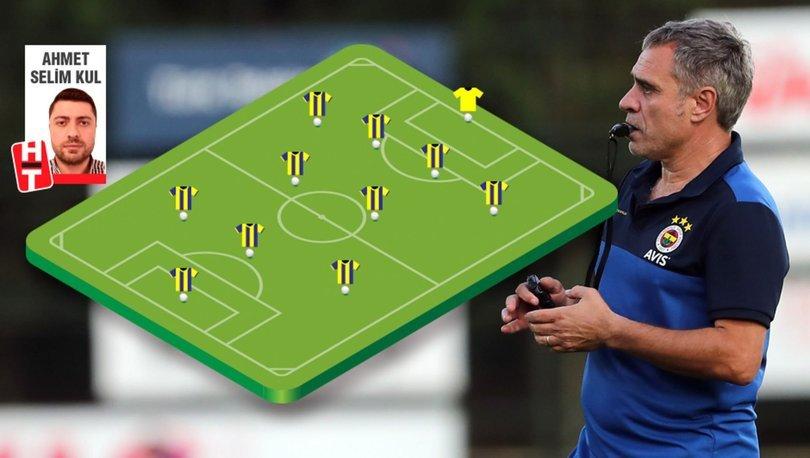 Fenerbahçe'de derbi için 3 forma için büyük yarış
