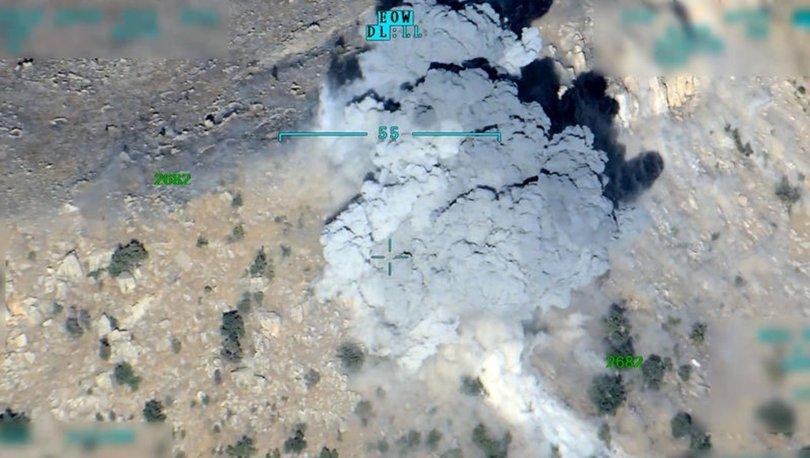 SON DAKİKA! Kuzey Irak'ta sözde özel güç unsuru 2 terörist öldürüldü