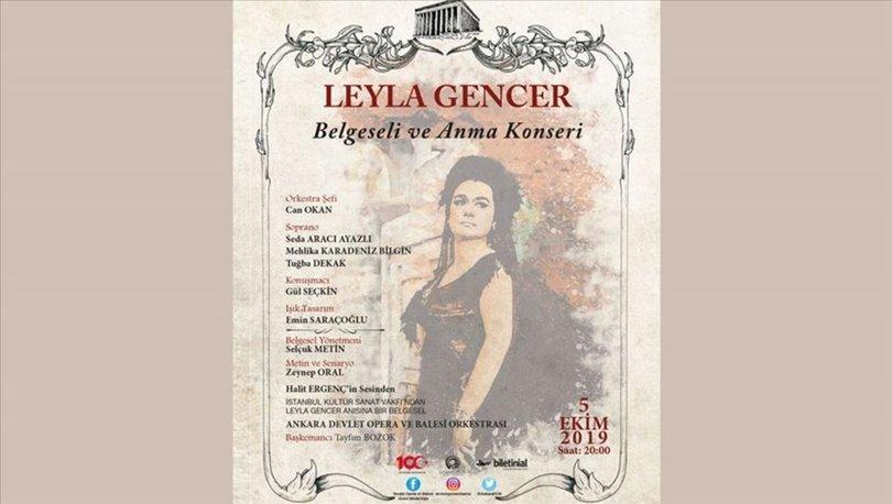 ADOB, sezonu 'Leyla Gencer Belgeseli ve Anma Konseri' ile açıyor