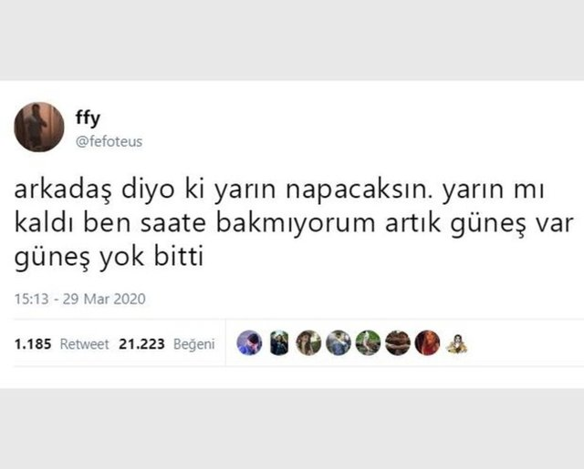 Yakın zamanda paylaşılan en komik tweetler!