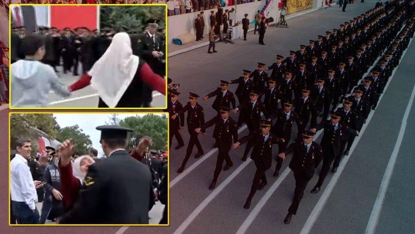 Yemin töreninde duygulandıran görüntü: Asker oğlunu, Ali'sini böyle aradı!