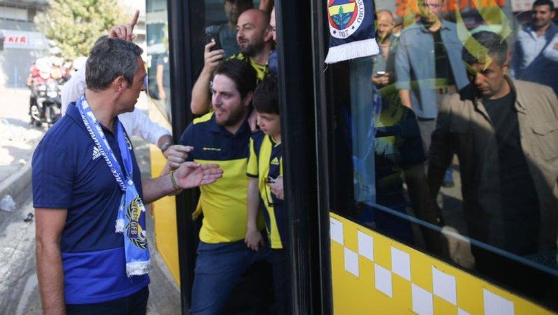 Ali Koç ve Fenerbahçe Yönetimi, TT Stadyumu'nda