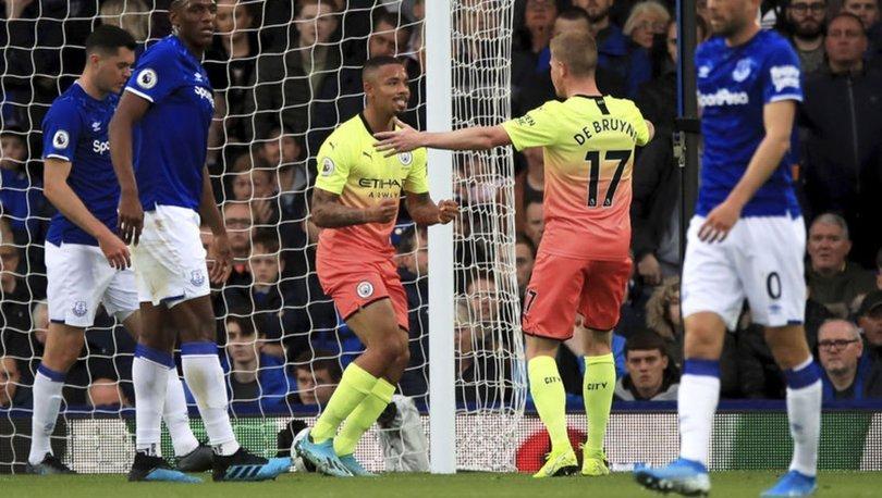 Everton: 1 - Manchester City: 3