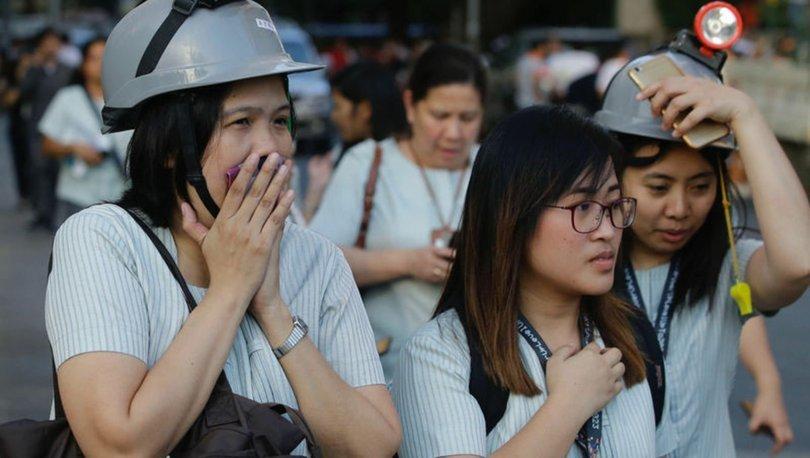 SON DAKİKA HABERİ! Filipinler'in güneyinde 6,4 büyüklüğünde deprem - HABERLER