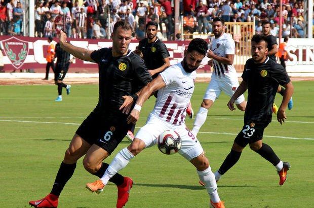Hatay'dan Eskişehir'i tek golle geçti