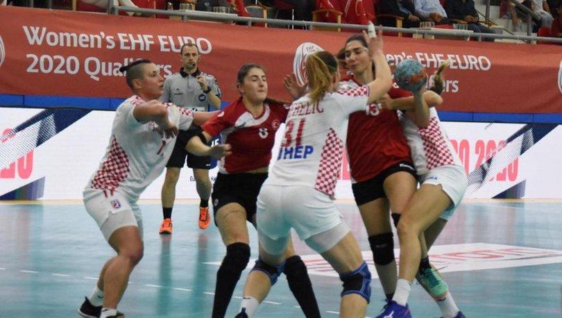 Türkiye: 21 - Hırvatistan: 30 - Hentbol 2020 Avrupa Şampiyonası Elemeleri